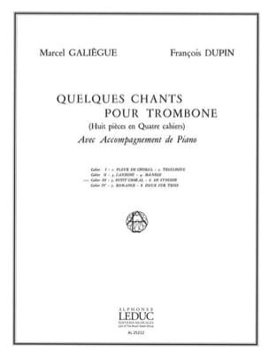 Quelques Chants cahier 3 - Petit Choral et En Syncope - laflutedepan.com