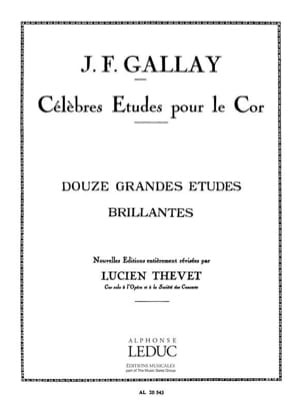 Gallay / thevet - 12 Grandes estudios brillantes - Partitura - di-arezzo.es