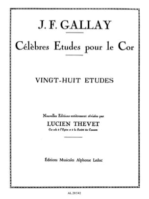 Jacques-François Gallay - 28 Opus Studies 13 - Sheet Music - di-arezzo.com