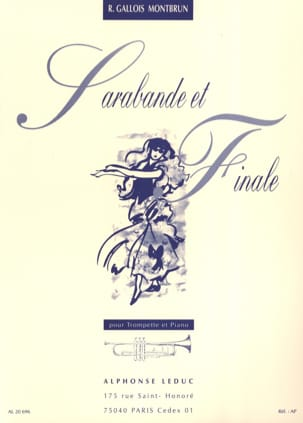Raymond Gallois-Montbrun - Sarabande et Finale - Partition - di-arezzo.fr
