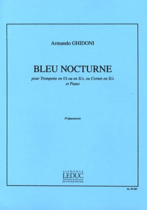 Armando Ghidoni - Night Blue - Sheet Music - di-arezzo.com