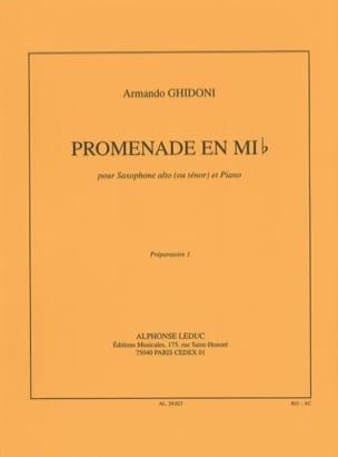 Armando Ghidoni - Eb Walk - Sheet Music - di-arezzo.co.uk