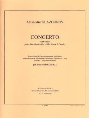 Alexander Glazounov - Concerto In Eb - Sheet Music - di-arezzo.com