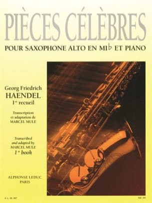 HAENDEL - Famous Pieces Volume 1 - Sheet Music - di-arezzo.com