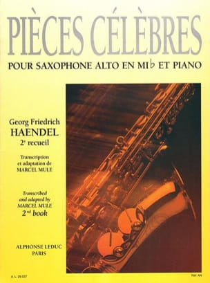 HAENDEL - Famous Pieces Volume 2 - Sheet Music - di-arezzo.com
