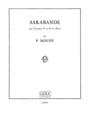 Pierick Houdy - Sarabande - Partition - di-arezzo.fr