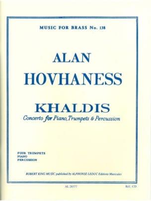 Khaldis Opus 91 Alan Hovhaness Partition Trompette - laflutedepan