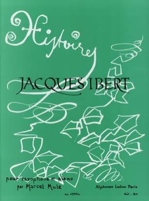 Jacques Ibert - Stories Collection - Sheet Music - di-arezzo.co.uk