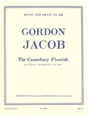 Gordon Jacob - Canterbury Flourisch - Sheet Music - di-arezzo.com
