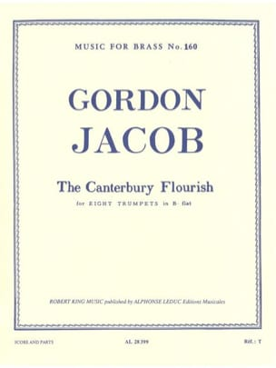 Gordon Jacob - Canterbury Flourisch - Partition - di-arezzo.fr
