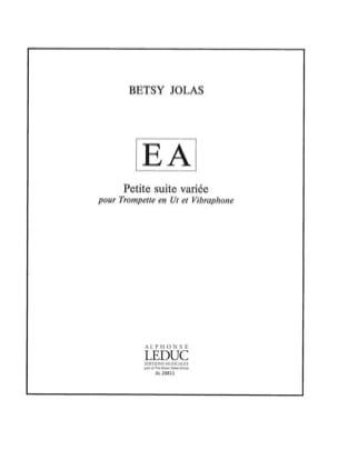 E A - Petite Suite Variée Betsy Jolas Partition laflutedepan