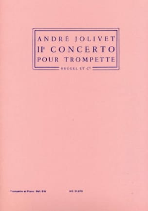 André Jolivet - 2nd Concerto - Sheet Music - di-arezzo.co.uk