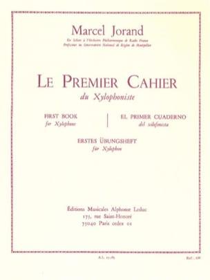 Marcel Jorand - Premier cahier du xylophoniste - Partition - di-arezzo.fr