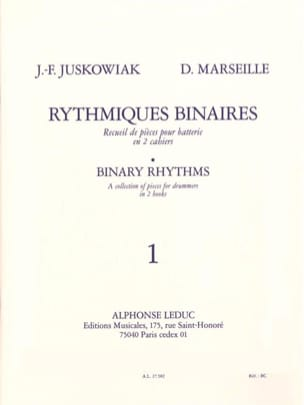 Juskowiak / Marseille - Volume binario ritmico 1 - Partitura - di-arezzo.it