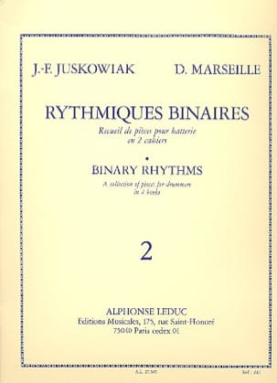 Juskowiak / Marseille - Binary Rhythmic Volume 2 - Partition - di-arezzo.com