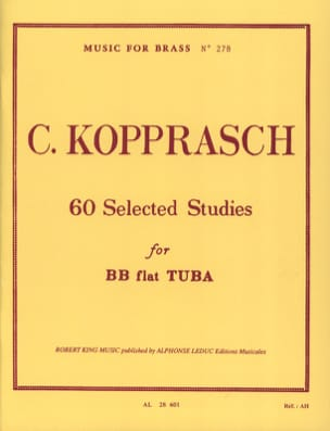 60 Selected Studies Georg Kopprasch Partition Tuba - laflutedepan