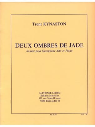 2 Ombres de Jade Sonate - Kynaston - Partition - laflutedepan.com