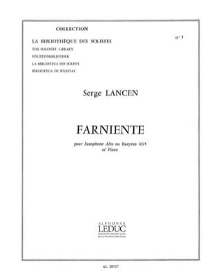 Serge Lancen - lazing - Sheet Music - di-arezzo.co.uk