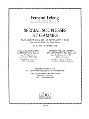 Lelong - Special Souplesses and Ranges Volume 1 - Souplesses - Sheet Music - di-arezzo.co.uk