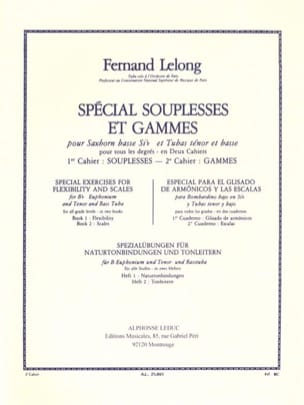 Lelong - Special Souplesses and Ranges Volume 2 - Ranges - Sheet Music - di-arezzo.com