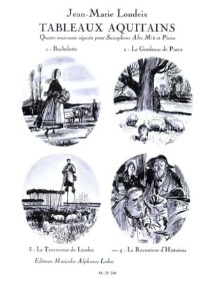 Jean-Marie Londeix - Aquitains Tables The Storyteller - Volume 4 - Sheet Music - di-arezzo.com