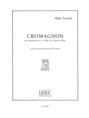 Cromagnon Alain Louvier Partition Tuba - laflutedepan