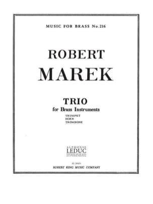 Robert Marek - Trio - Partition - di-arezzo.fr