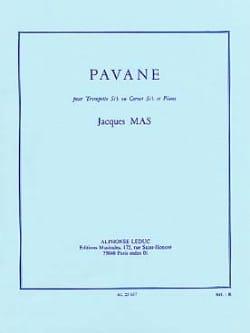 Jacques Mas - Pavane - Partition - di-arezzo.fr