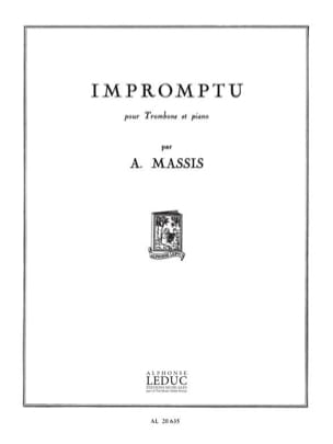 Amable Massis - Impromptu - Partition - di-arezzo.ch