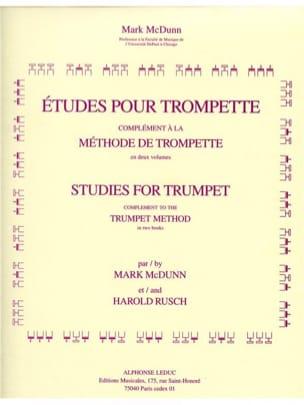 Etudes Pour Trompette - Mcdunn / Rusch - Partition - laflutedepan.com