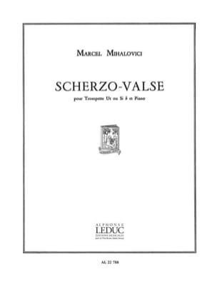 Scherzo-Valse Marcel Mihalovici Partition Trompette - laflutedepan