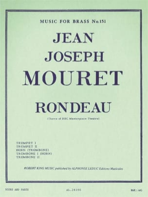 Jean Joseph Mouret - Rondeau - Sheet Music - di-arezzo.com