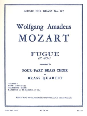 MOZART - Fugue - Partition - di-arezzo.fr