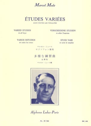 Marcel Mule - Varied Studies in All Tones - Sheet Music - di-arezzo.co.uk