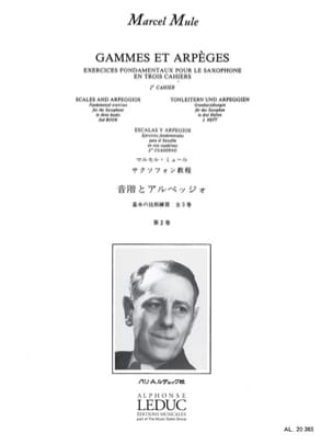 Marcel Mule - Ranges and Arpeggios Volume 2 - Sheet Music - di-arezzo.com