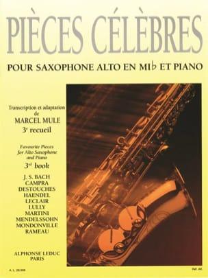 - Pièces Célèbres Volume 3 - Partition - di-arezzo.fr