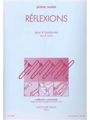 Jérôme Naulais - Réflexions - Partition - di-arezzo.fr