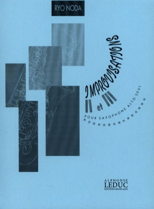 Ryo Noda - Improvisations 2 and 3 - Sheet Music - di-arezzo.com
