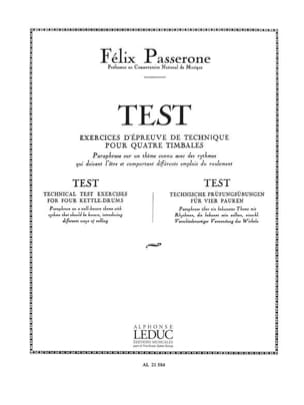 Passerone - Test - Sheet Music - di-arezzo.com