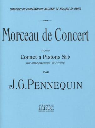 J.G. Pennequin - Concert Piece - Sheet Music - di-arezzo.com