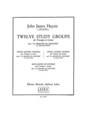James John Haynie - Twelve Study Groups - Partition - di-arezzo.fr