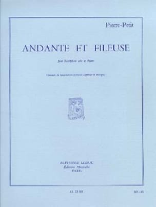 Andante et Fileuse - Pierre Petit - Partition - laflutedepan.com