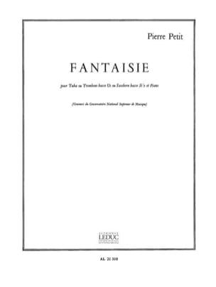 Pierre Petit - Fantaisie - Partition - di-arezzo.fr