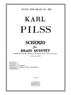 Karl Pilss - Scherzo - Partition - di-arezzo.fr