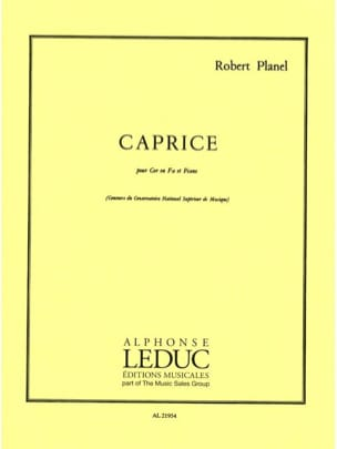 Robert Planel - Caprice - Sheet Music - di-arezzo.co.uk