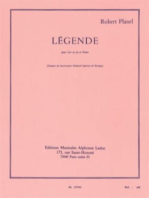 Robert Planel - Legend - Sheet Music - di-arezzo.com
