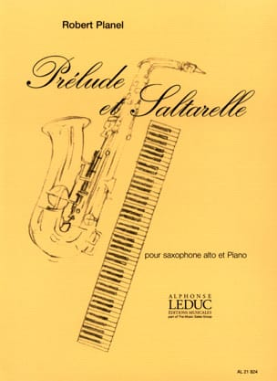 Robert Planel - Prelude And Saltarelle - Sheet Music - di-arezzo.co.uk