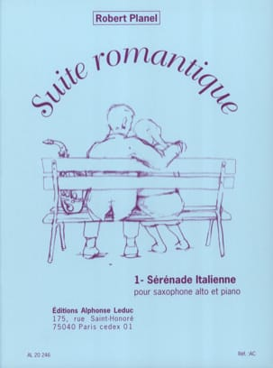 Robert Planel - Romantic Suite Volume 1 - Italian Serenade - Sheet Music - di-arezzo.com
