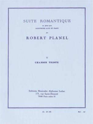 Robert Planel - Romantic Suite Volume 3 - Sad Song - Sheet Music - di-arezzo.co.uk