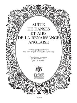 Suite de Danses et Airs - John Playford - Partition - laflutedepan.com